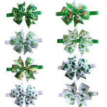 Load image into Gallery viewer, ST Patrick's day Grooming Accesories Bowties Collar Adjustable