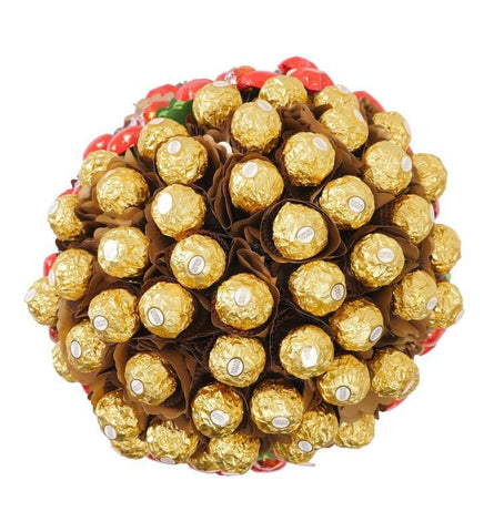 Image of Rose Garden Luxury Chocolate Bouquet - FREE OVERNIGHT DELIVERY*