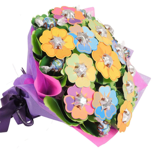 Bright Flower Chocolate Bouquet