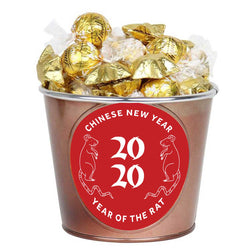 Chinese New Year Golden Chocolate Wishes : 40 chocolates