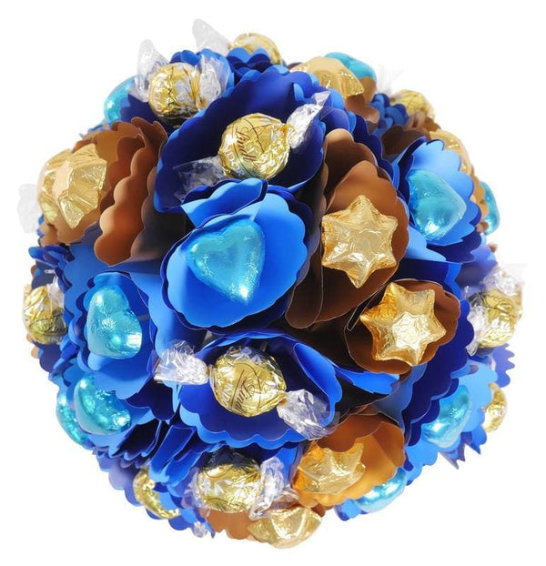 Copper-Royal Chocolate Bouquet