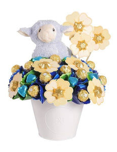 Choc Fields Chocolate Bouquet Blue Large