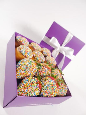 Image of Donut and Strawberry Gift Box - London only
