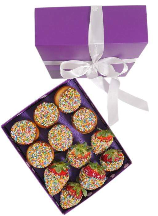Donut and Strawberry Gift Box - London only