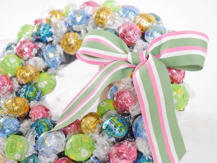 Bright Chocolate Lindt Wreath