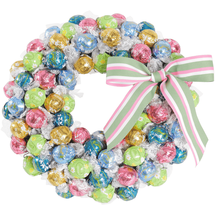 Bright Chocolate Lindt Wreath - Available Nov 19th