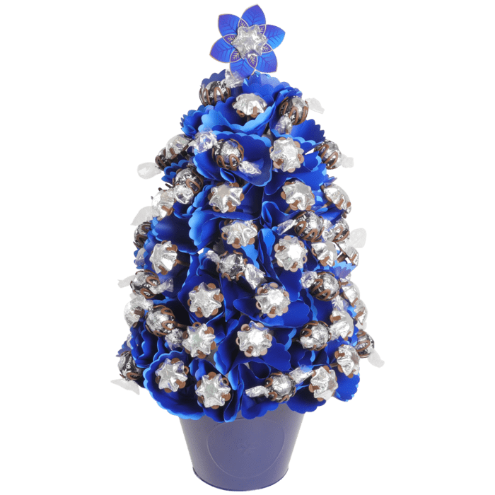 X-Large Navy Choc Christmas Tree