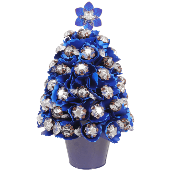 Large Navy Choc Christmas Tree