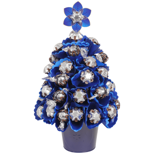 Medium Navy Choc Christmas Tree