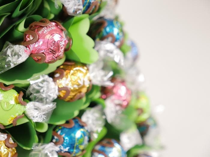 Large Pastel Choc Christmas Tree