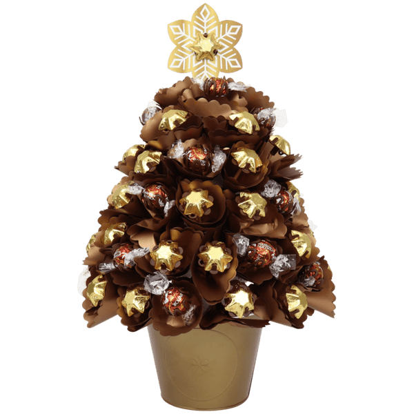 Large Golden Choc Christmas Tree