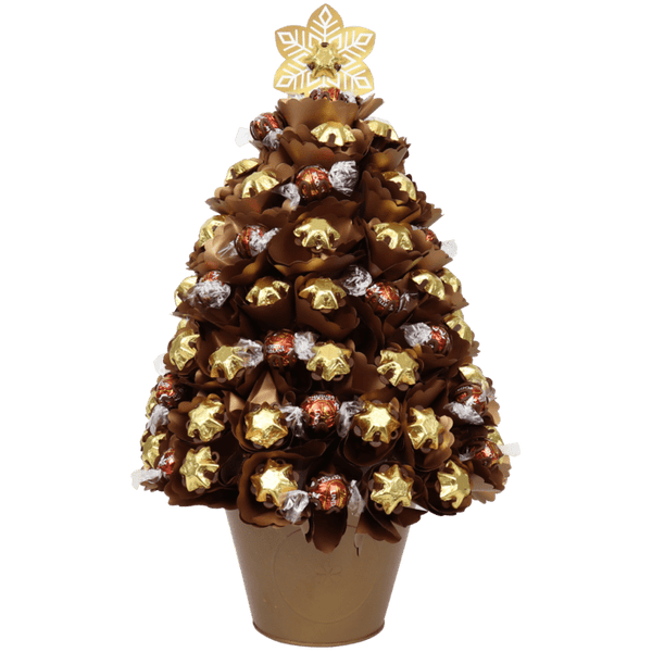 X-Large Golden Choc Christmas Tree
