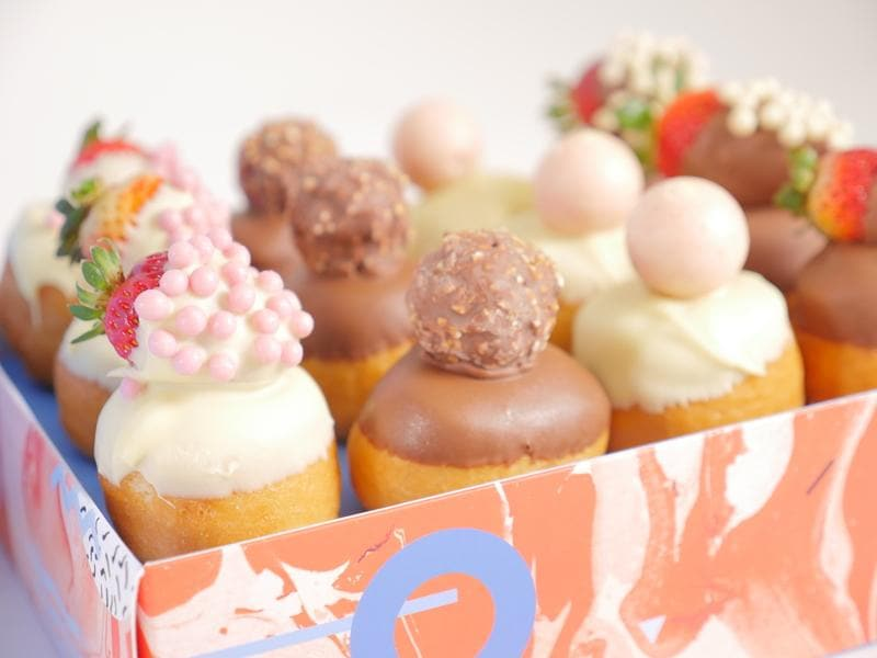 Ultimate Donut and Strawberry Gift Box - London only