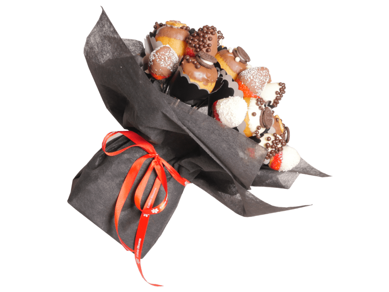 Luxe Donut and Strawberry Bouquet - central London only