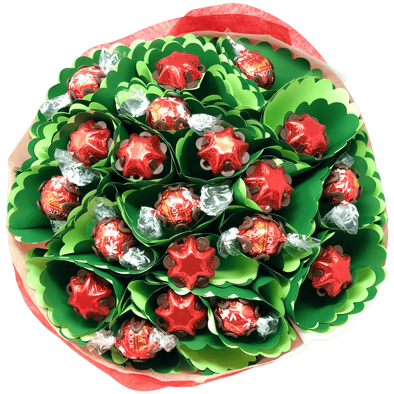 Christmas Chocolate Bouquet