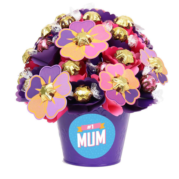 #1 Mum Blush Large Chocolate Bouquet