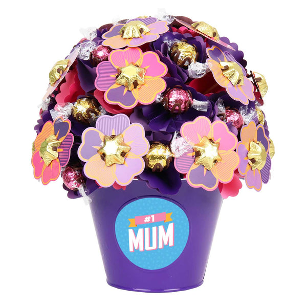 #1 Mum Blush Medium Chocolate Bouquet