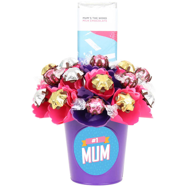 Mum's the Word Choc Block Bouquet