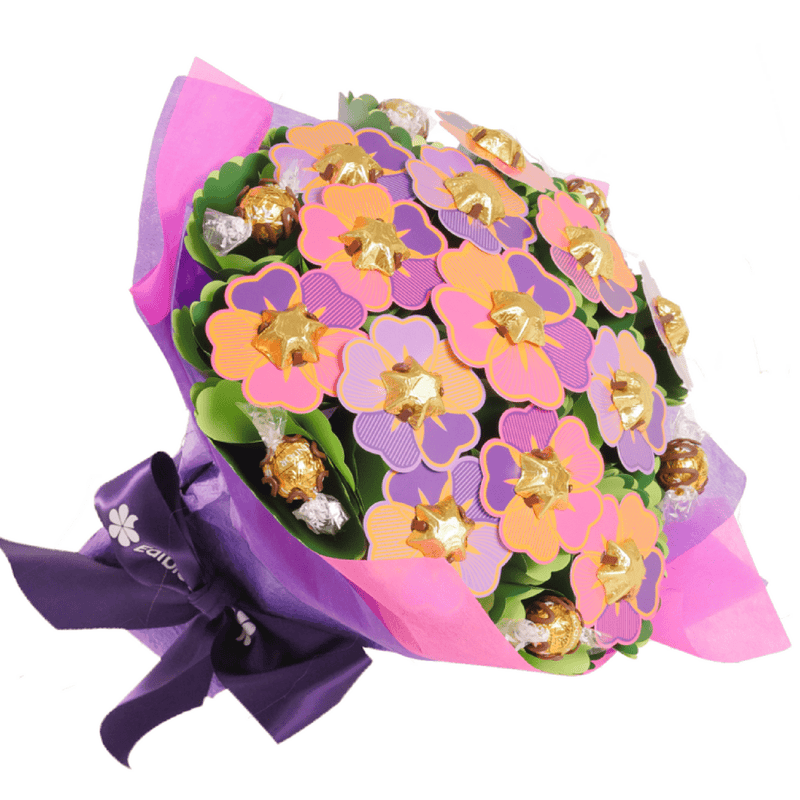 Blush Flower Chocolate Bouquet
