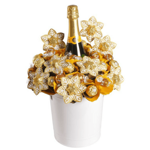 Veuve Christmas Garden Bouquet