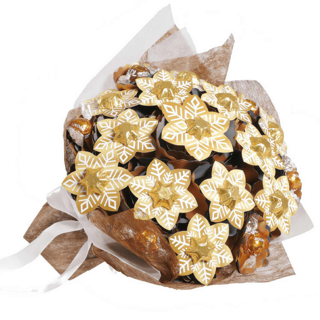 Golden Snowflake Bouquet