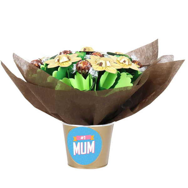 Small 'Number One Mum' Chocolate Posy