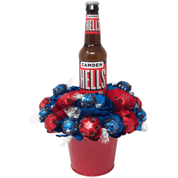 Hells and Heaven Chocolate Bouquet Single