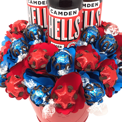 Hells and Heaven Chocolate Bouquet Triple