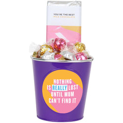 'Nothing is Really Lost until Mum Can't Find it' Mother's Day Choc Block