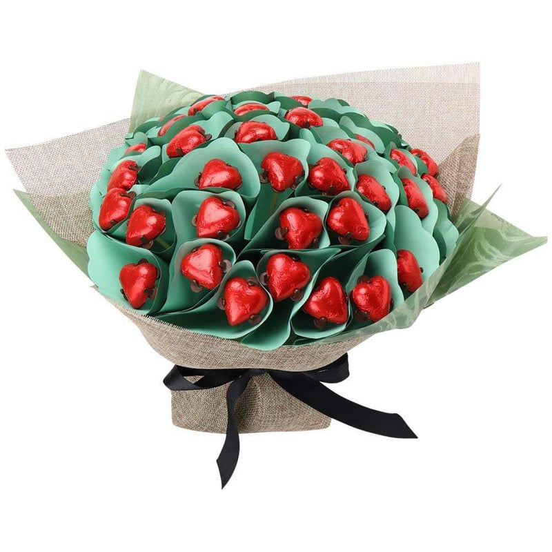 Forty Red Heart Posy