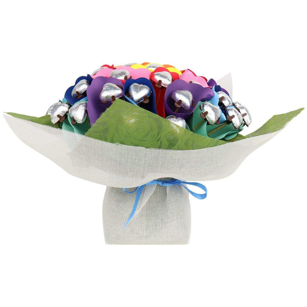 Rainbow Love Forty Chocolate Posy