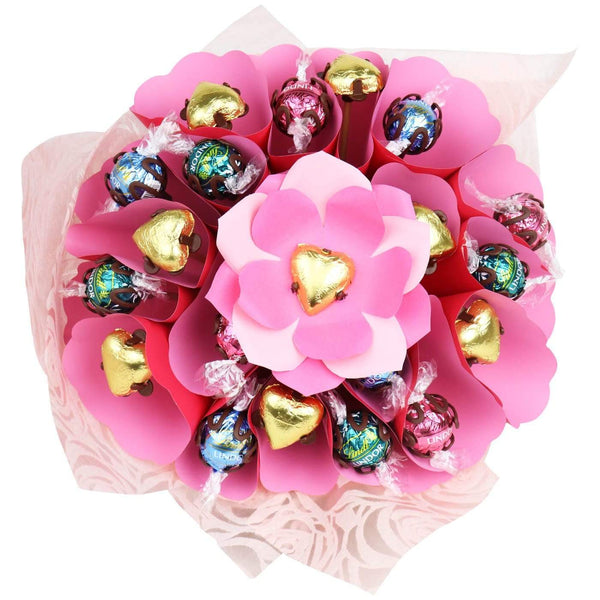 Magical Pink Chocolate Roses Posy