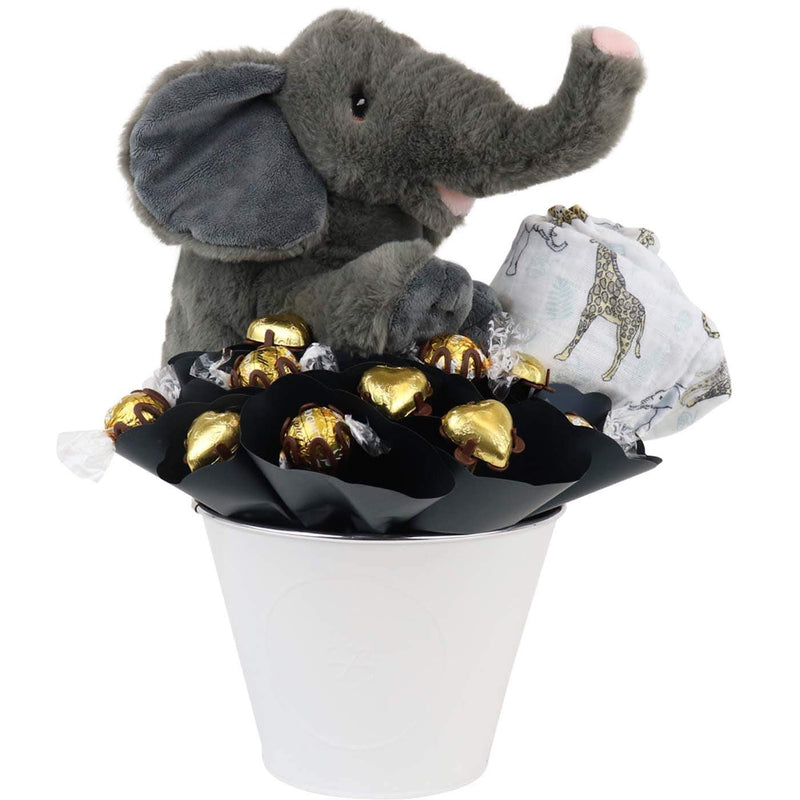 Baby Elephant Chocolate Arrangement
