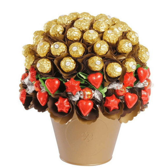 Rose Garden Luxury Chocolate Bouquet