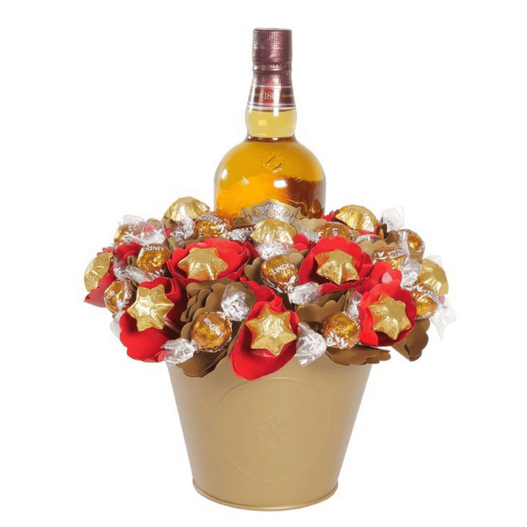 Luxury Scotch Chocolate Bouquet