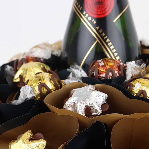 Moet Chocolate Arrangement Grand