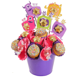 MonStar Treats Donut Bouquet - central London only