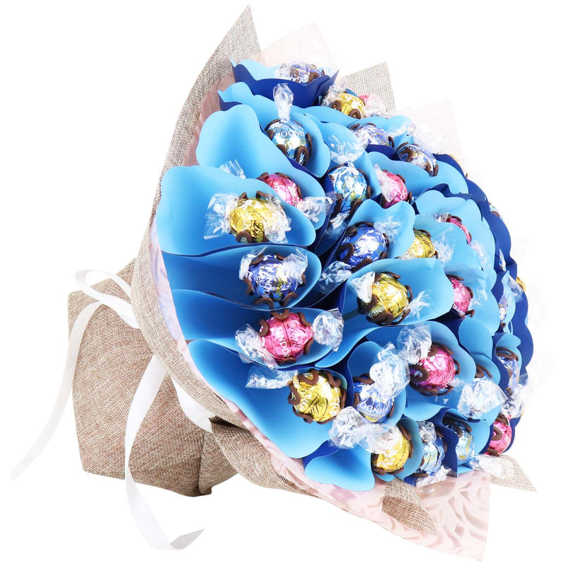 Pastel Forty Mixed Lindt Chocolate Bouquet