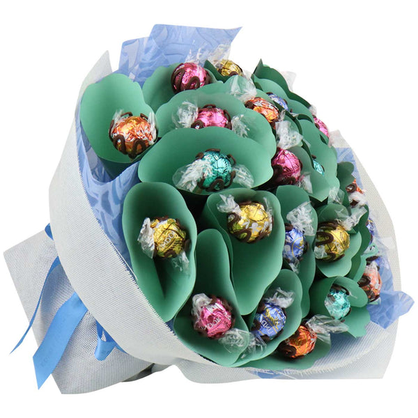 Pastel Twenty Mixed Lindt Chocolate Bouquet