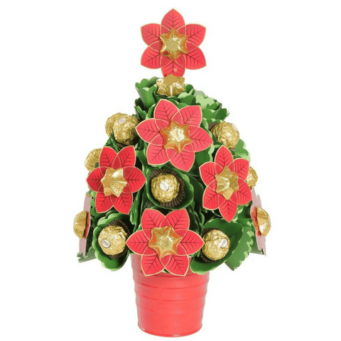Image of Poinsettia Christmas Tree