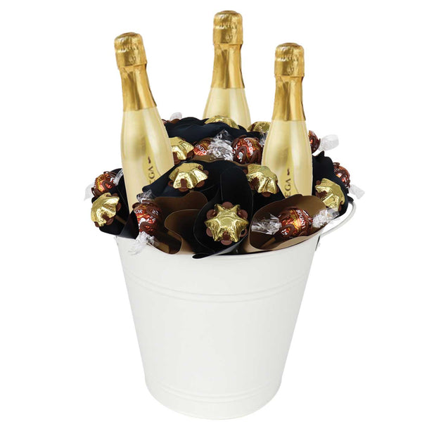 Prosecco Piccolo Chocolate Arrangement Deluxe