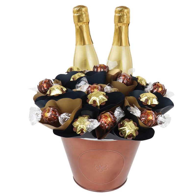 Prosecco Piccolo Chocolate Arrangement Grand