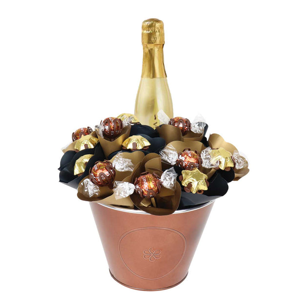 Prosecco Piccolo Chocolate Arrangement Classic