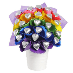 Rainbow Chocolate Bouquet Medium