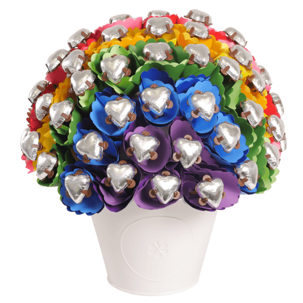 Rainbow Love Chocolate Bouquet Large
