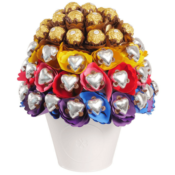 Rainbow Love Chocolate Bouquet Luxury