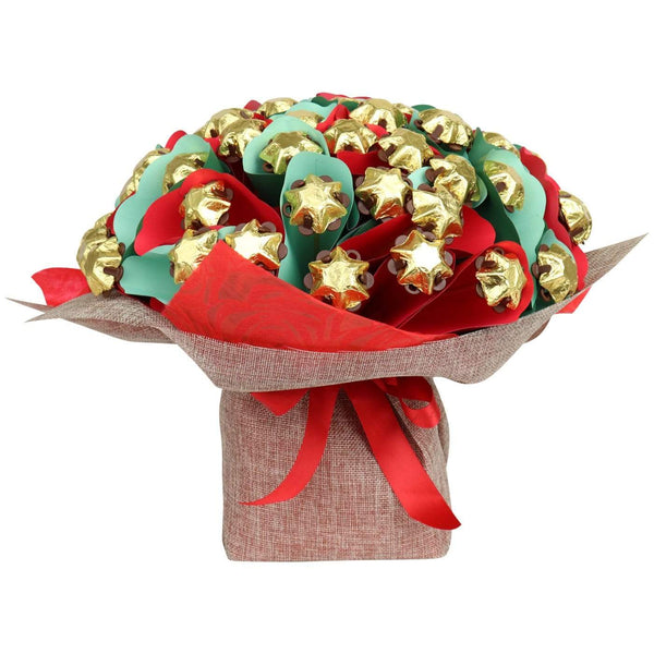 Christmas Star Bouquet Deluxe