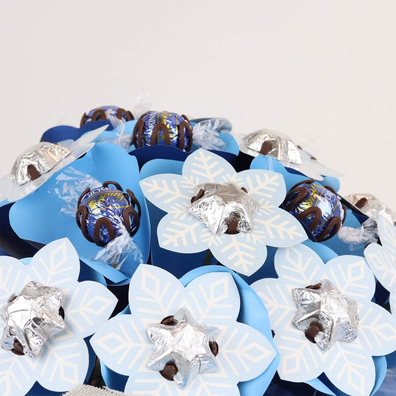 Snowflake Christmas Flower Bouquet Grand