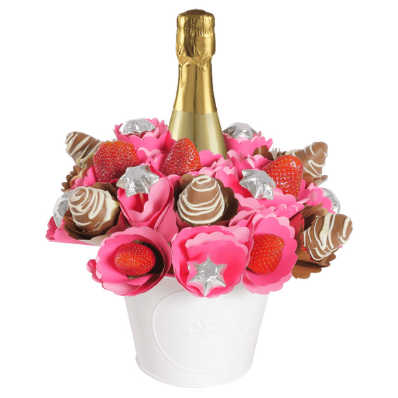 Strawberry Sparkling Chocolate Bouquet