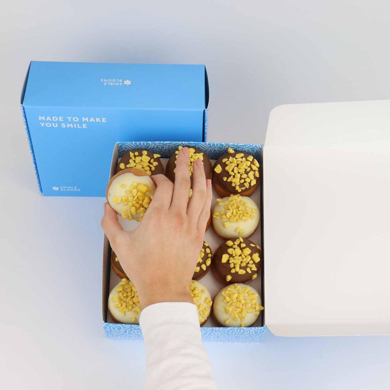 Sunshine honeycomb Donut Gift Box - National GB Delivery Available